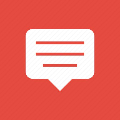bubble, chat, chatting, comment, conversation, inbox, message icon