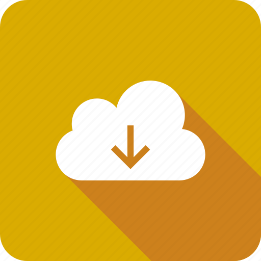 cloud, data, download, downloading, save, storage icon