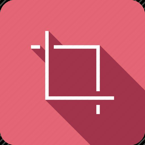 crop, design, tool, transform icon