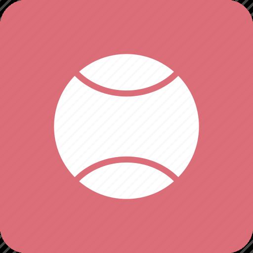 ball, equipment, fun, sports, tennis icon