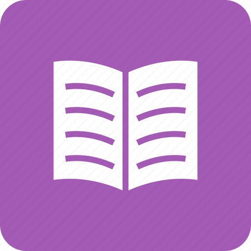 book, books, education, library, open, reading icon