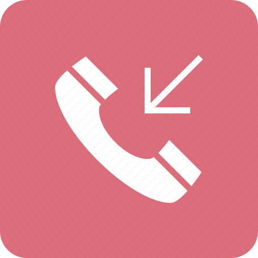 call, incoming, mobile, phone, smartphone, telephone icon