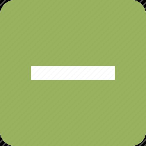 cancel, delete, exit, minus, remove icon
