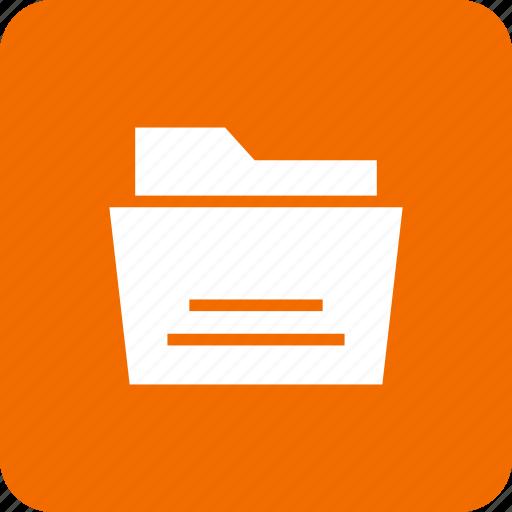 data, file, folder, office, paper, report icon