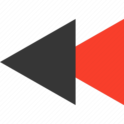 arrow, back, left, multimedia, music, player, rewind icon