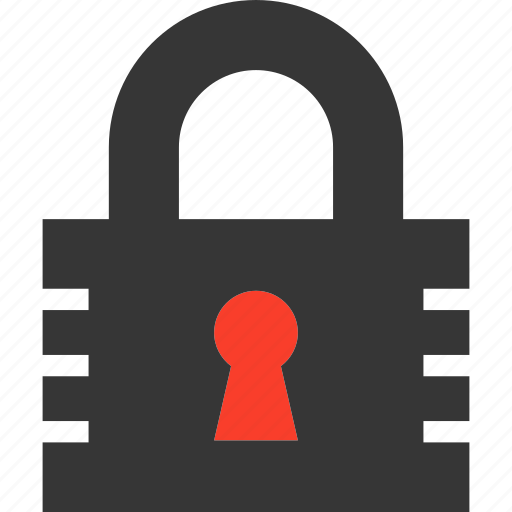 Privacy, lock, safe, padlock, authorisation, security, password icon