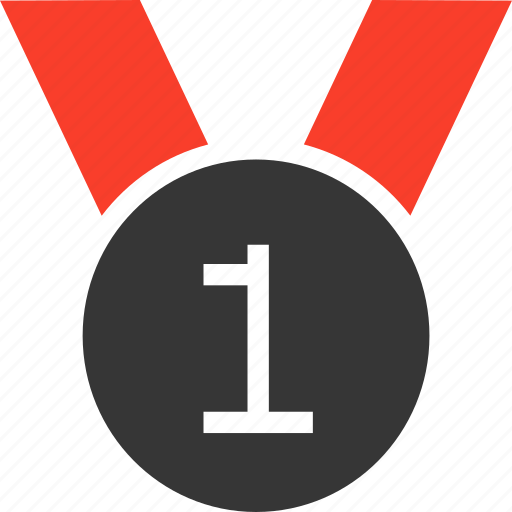 award, medal, prize, ribbon, winner icon