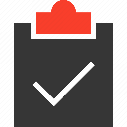 check, clipboard, list, ok, select, success, tasks icon