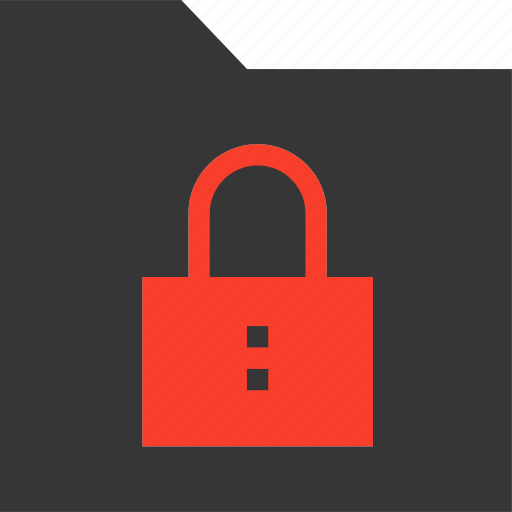 Collection, data, folder, group, locked, secure, security icon - Download on Iconfinder