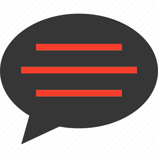 Comment, bubble, speech, chat, talk icon