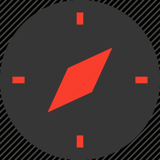 Direction, travel, safari, compass, navigation, transport icon - Download