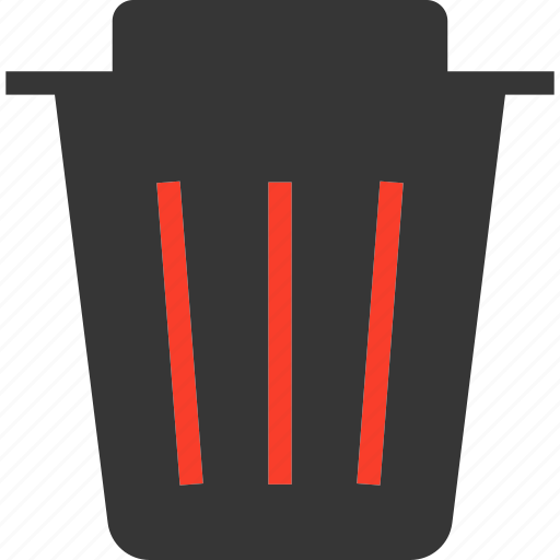 Delete, dustbin, empty, recycle, recycling, remove, trash icon - Download on Iconfinder