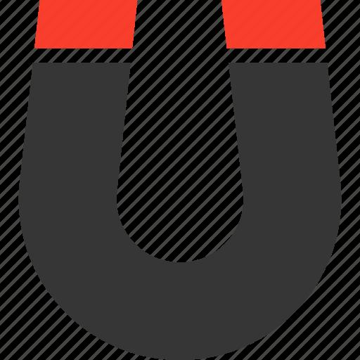 customer, horseshoe, magnet, magnetic, power icon