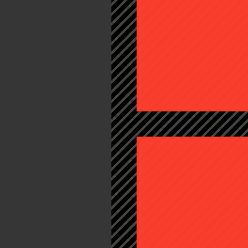 column, design, interface, layout, multi, website icon