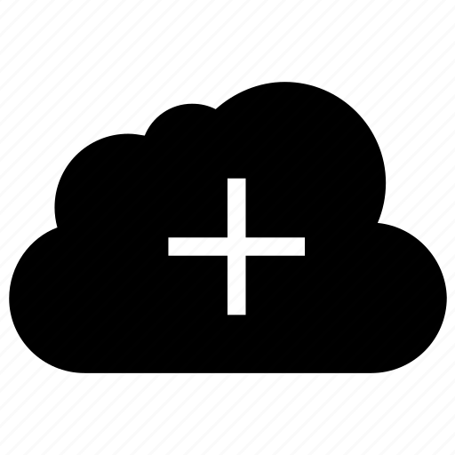 add, cloud, cloud computing, create, new, plus icon icon