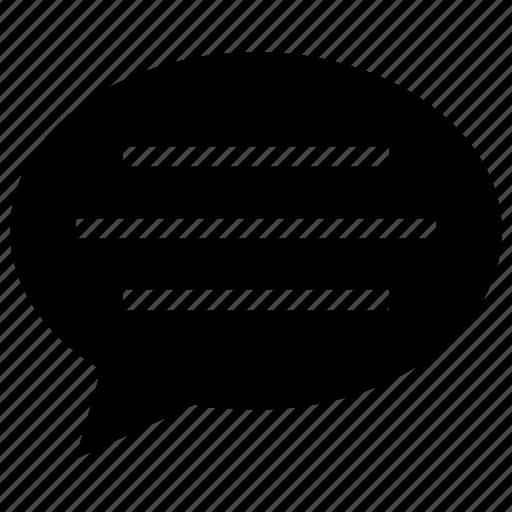bubble, chat, comment, speech bubble, talk icon icon