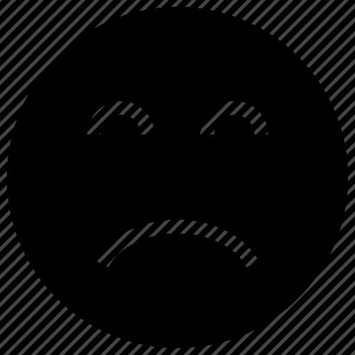 Depression, frown, sad, upset icon icon - Download on Iconfinder