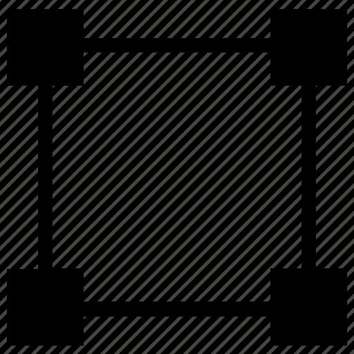 abstract, creative, crop, design, hexagon icon, tool icon
