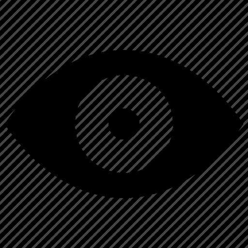 enable, eye, view, views, watch icon icon