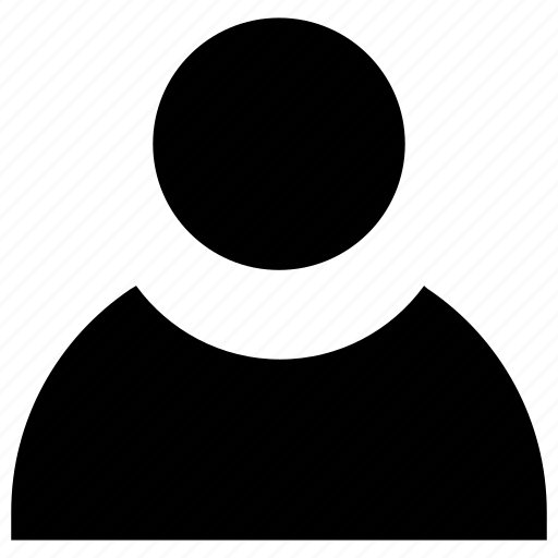 account, audience, customer, person, profile, user icon icon