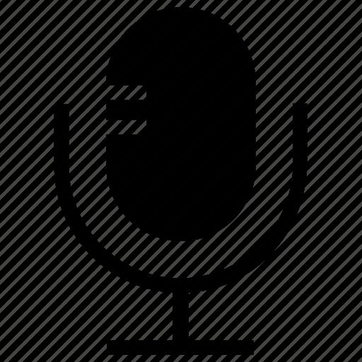 mic, microphone, radio mic, recording, speak icon icon