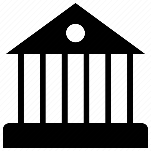 bank, building, government, house, panteon icon, real estate icon