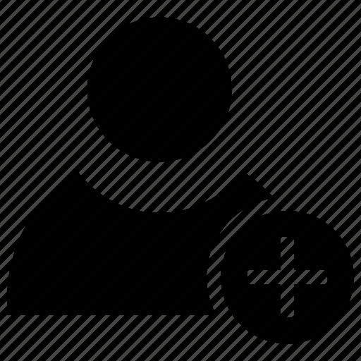 add, character, include, more, person, user icon icon
