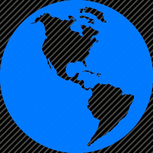 Blue browser connection earth explore explorer for Internet plante