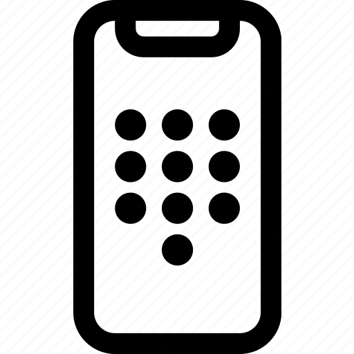 device, dial, iphone, mobile, phone, x icon