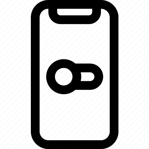 boolean, device, iphone, mobile, switch, x icon