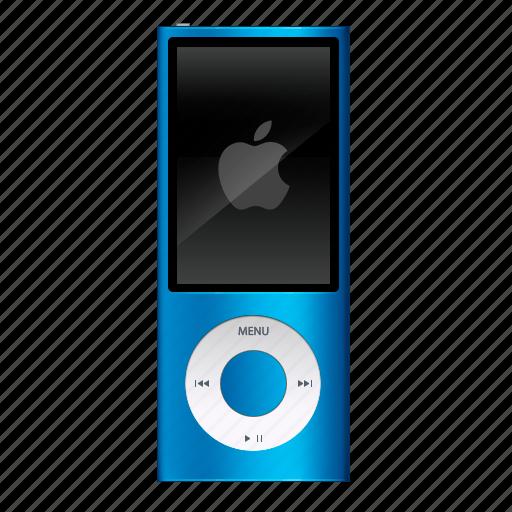 audio, ipod, music, nano, play, player, sound icon