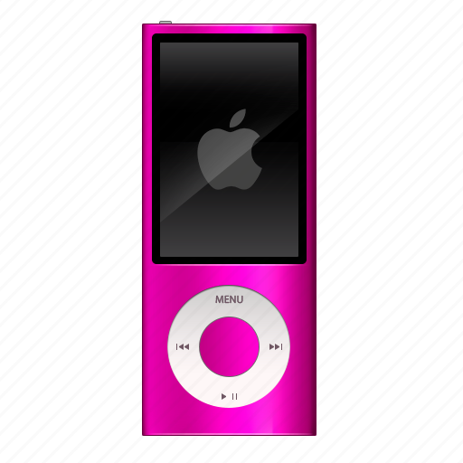 audio, ipod, music, nano, pink, play, player icon