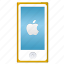 apple, design, gold, ipod, logo icon