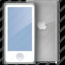 aluminium, aluminum, ipod, sides icon