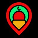 location, pin, gps, mosque, islam