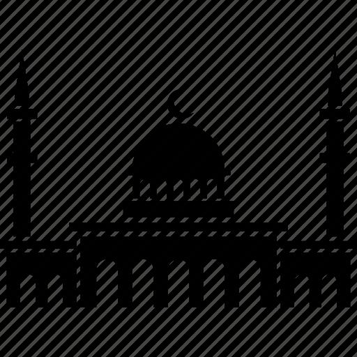 building, design, islam, islamic, mosque, muslim, religion icon