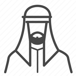 avatar, islam, islamic, male, man, muslim icon