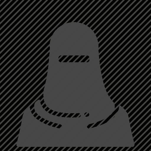female, girl, islam, islamic, moslem, muslim, woman icon