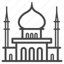 building, construction, islam, islamic, mosque, muslim, ramadan icon