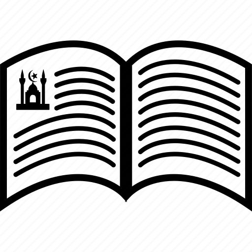bible, book, funeral, islamic, koran, prophet, quran icon