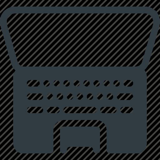 Computer, keyboard, laptop, macbook, pro icon - Download on Iconfinder