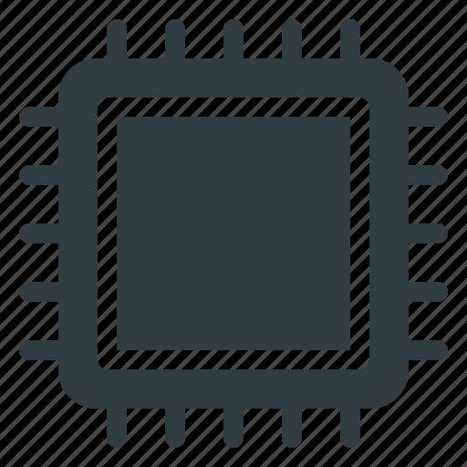 Chip, microchip, cpu, processor icon