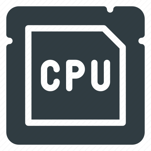 Chip, cpu, microchip, processor icon - Download on Iconfinder