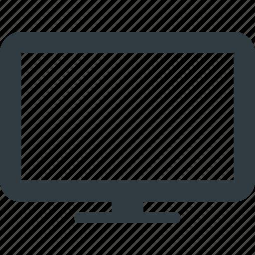 Screen, monitor, television, display icon