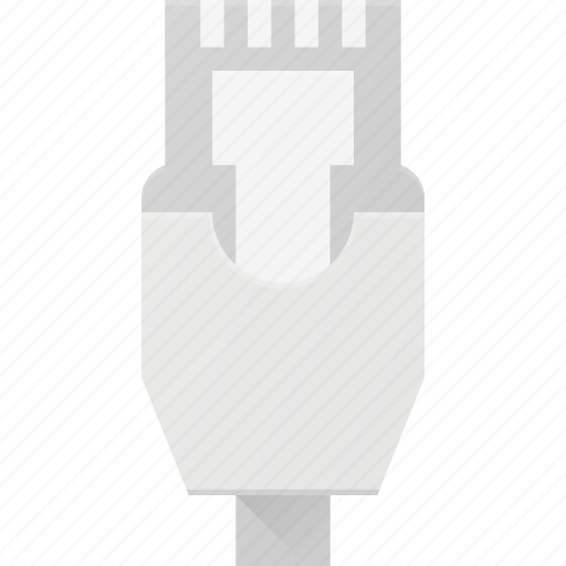 cable, ethernet, network, plug icon