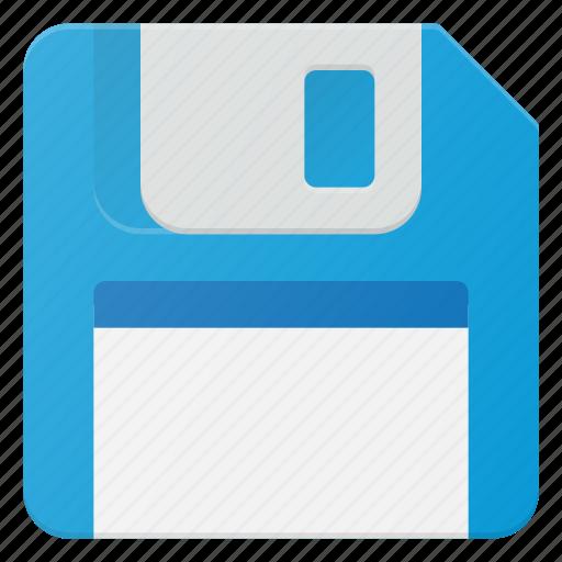 disc, floppy, memory, save icon
