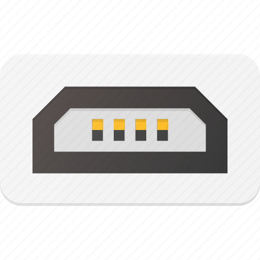 Micro, mini, plug, port, usb icon - Download on Iconfinder