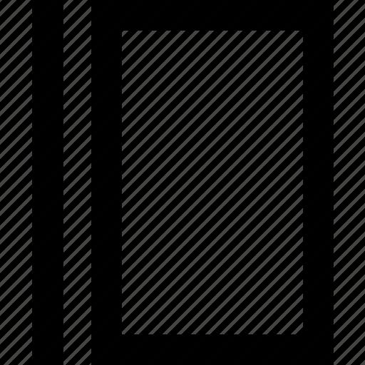 device, line, minimal, pentablet, tablet icon