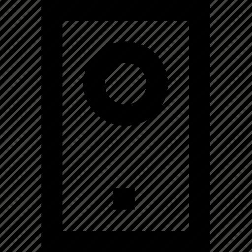 device, ipot, line, minimal, mp3 icon