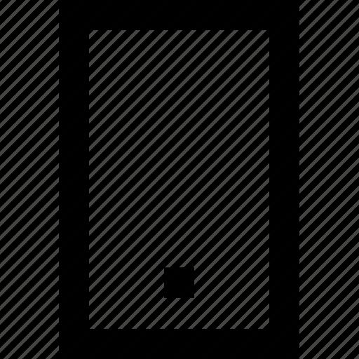 device, iphone, line, minimal, mobile, phone icon